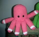 Pink Petals the Octopus